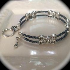 Elegant Memory Wire Bracelet