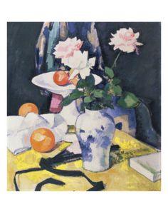 Roses and Oranges, Samuel John Peploe