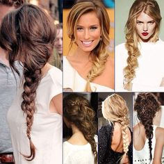 Stunning Braids for 2014 Spring/Summer side braided hair styles for hot weather