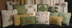 I'll take one of each! Elements like these pillows add fine detail to any Craftsman style home. In fact, these pillow designs add class to any style of home.