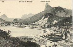 Enseada de Botafogo - Rio de Janeiro de 1900