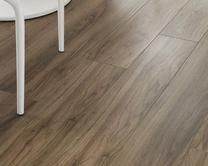 Professional V-Groove American Pecan Laminate Laminate Flooring, Hardwood Floors, Navy Kitchen, Kitchen Collection, Joinery, Pecan, Kitchen Ideas, Families, Range