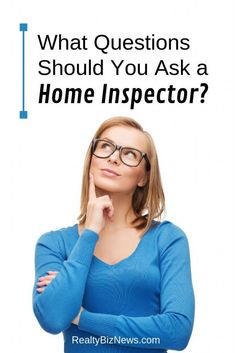 There are a lot of questions homebuyers should ask the home inspector before, during and after the inspection. Read all about the questions to ask here. What If Questions, This Or That Questions, Wellington Florida, Real Estate Articles, Home Buying Tips, You Ask, Home Inspection, Residential Real Estate, First Time Home Buyers