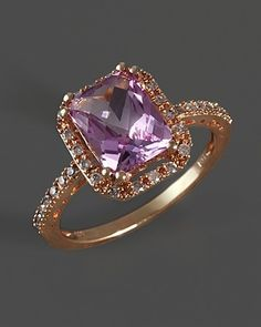 Purple Reign 18k Rose Gold Plated 1050ctw Genuine Pink Amethyst