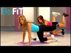"""5 Minute Butt Lift Workout"" by Denise Austin---this is a short video targeting the butt. It's a good addition to another workout."