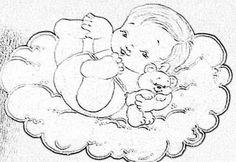 bebe com ursinho