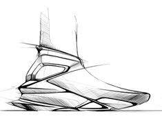 Some doodles on Behance Art Drawings Sketches Simple, Shoe Sketches, Sneakers Sketch, Industrial Design Sketch, Technical Drawing, Basketball Shoes, Designer Shoes, Doodles, Footwear
