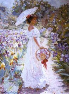 Alexander Averin - Iris borders at Monet's house