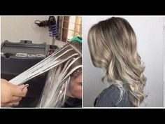 BALAYAGE / BLONDOR FREELIGHTS / OLAPLEX / - YouTube