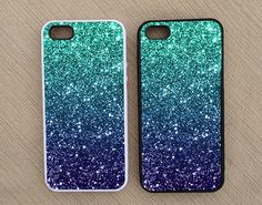 Ombre Fade Pattern Glitter iPhone Case iPhone 5 by BeeCoolShop, $11.95