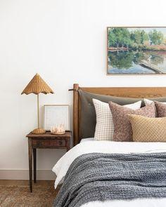 Home Design, Design Ideas, Solid Oak Beds, Ideas Habitaciones, Decor Inspiration, Decor Ideas, Amber Interiors, Home Bedroom, Calm Bedroom
