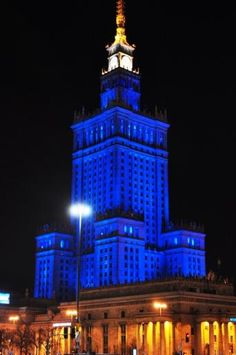Gallery | Light It Up Blue | Autism Speaks Palace of Culture and Science - Warsaw, Poland