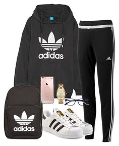 """Untitled #338"" by kingrabia on Polyvore featuring adidas Originals, adidas, Michael Kors and EyeBuyDirect.com"