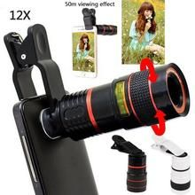 12x Zoom Telescopic Mobile Phone Lens Camera Lens Phone Lens