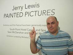 Jerry Lewis Art Photo Exhibit at UNLV