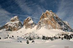 Sassolungo | Canazei - Trento - Italy  © Claudio Scarponi