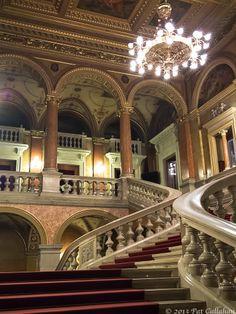 Interior Budapest Opera House