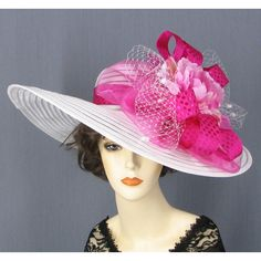 Fashion Hats, Kentucky Derby Hats, Dress Hats, Cocktail Hat, Ladies Hats found on Polyvore