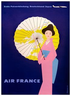 Air France - Germany to Japan, 1959
