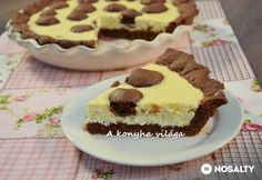Pöttyös túrós pite | NOSALTY Creative Cakes, Waffles, Cake Recipes, Food And Drink, Baking, Breakfast, Sweet, Morning Coffee, Candy