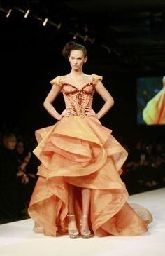 Michael Cinco at Dubai Fashion Week