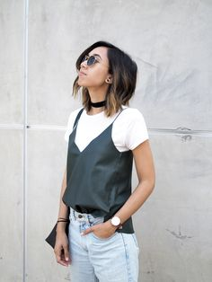 7 ways to style summer layers black white grey уличная мода, Uni Fashion, Look Fashion, Fashion Outfits, Fashion Tips, Spring Fashion, Italy Fashion, Pretty Outfits, Cool Outfits, Layering Outfits
