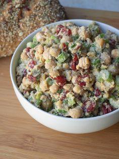 Cranberry Walnut Chickpea Salad