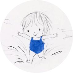 """Jane Massey Illustrations"" stickers set for Telegram Pencil Art Drawings, Doodle Drawings, Art Drawings Sketches, Easy Drawings, Simple Cartoon, Art Et Illustration, Whimsical Art, Rock Art, Oeuvre D'art"