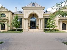 Estate of the Day: $3.4 Million French Country Mansion in Dallas, Texas