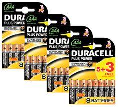 BUN0020A Duracell Plus Power 32 Pack AAA Batteries - http://www.duracelldirect.co.uk/pno/bun0020a.html