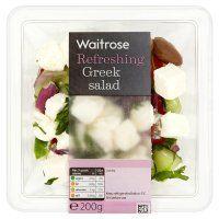 Waitrose Greek salad @ 243 calories