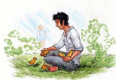 Duckling Omens by Kaytara