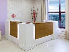 Уникальные ресепшн на заказ от компании Первая Мебельная Компания купить в Казани
