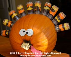 Turkey Feathers are push pops!
