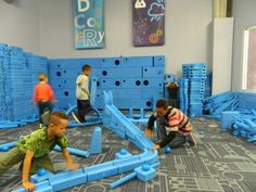 """The Discovery Cube Science Museum LA After nearly 20 years located in The OC, the Discovery Cube opened a 2nd location in the LA area in the Hansen Dam Recreation Area. There are so many activities it's like a science amusement park. Look for chair lifts, pulley races, a climbing wall, kayaks, a 70 MPH wind tunnel, a competitive recycling game, a clever """"aquavator"""" that simulates an elevator ride into an underground aquifer, and a simulated helicopter ride."""