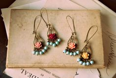 A mystery date. Mix n match earrings.. $29.66, via Etsy.