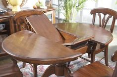 1000 images about dining table on pinterest expandable for Buy expanding round table