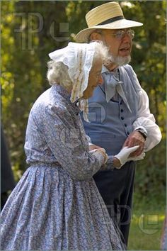 Old Couple Dancing At Bethpage Restoration, New York September 2006
