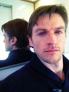 Gideon Emery with Deucalion's contacts in
