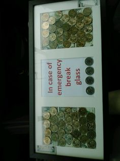A creative way to give money!