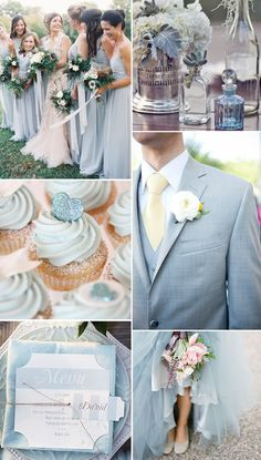 Placid Blue is another beautiful color from Pantone's Spring color report! Not only is this shade calming, it also reminds us of a clear blue Seattle sky! We love Placid Blue paired with raspberry and succulent green. Lucky in Love Wedding Planning Blog | BanquetEvent.com #blue #weddingcolors #pantone