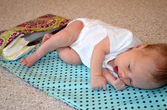 Tutorial: Diaper Changing Pad Clutch | Jordana Paige Blog