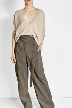 BRUNELLO CUCINELLI - Pullover with Cashmere and Silk | STYLEBOP