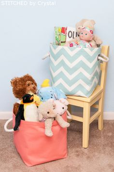 DIY Storage Solutions: Toys