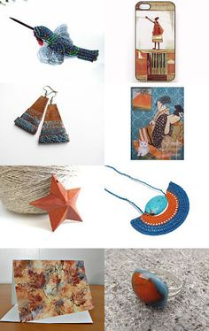Impressions Of Fall by Arlene on Etsy--Pinned with TreasuryPin.com