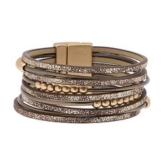 Saachi Bronze Fes Bracelet ($25) ❤ liked on Polyvore featuring jewelry, bracelets, magnetic jewelry, polish jewelry, magnet jewelry, bronze jewelry and wrap jewelry