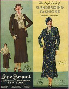 Lane Bryant spring/summer 1932