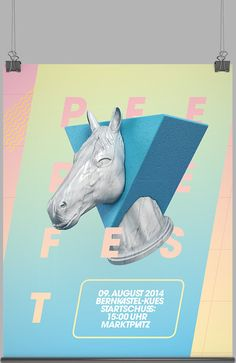 Pferdefest 2014 by FOREAL™, via Behance