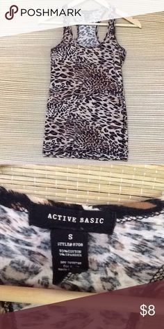 21c4f31e2c6c Razor back top This is a cheetah print razor back top worn but in good  condition