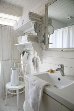 White Foundations. Decorating with White! See More at thefrenchinspiredroom.com